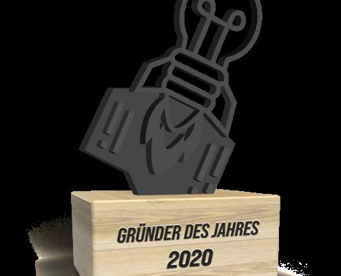 Nominierung Gründer des Jahres Award